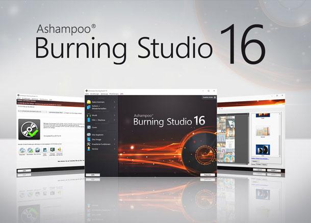 Gewinnt 10 Ashampoo Burning Studio 16 Lizenzen! © Ashampoo