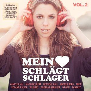 """Jetzt die Doppel-CD """"MEIN HERZ SCHLÄGT SCHLAGER - VOL. 2"""" gewinnen"""